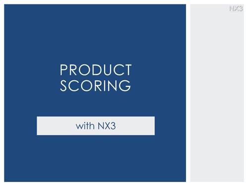 Product Interest Scoring Thumb